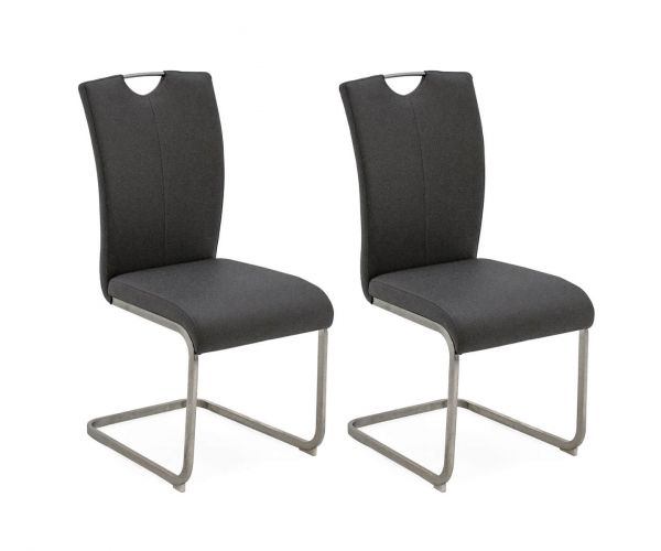 Vida Living Lazzaro Grey Dining Chair in Pair