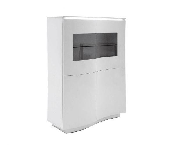 Vida Living Lazzaro White Display Unit