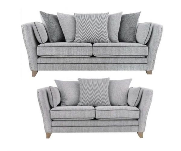 Lebus Athena Fabric 3+2 Sofa Set