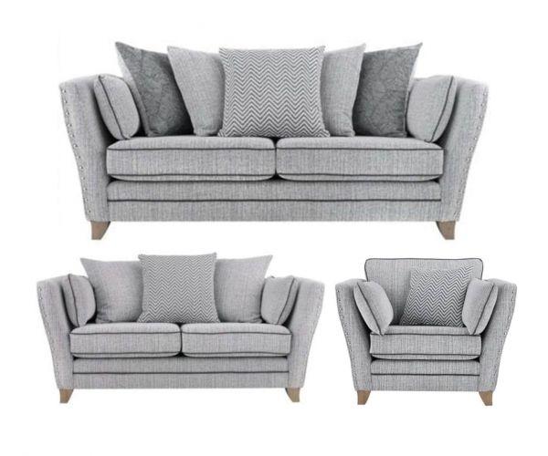 Lebus Athena Fabric 3+2+1 Sofa Set