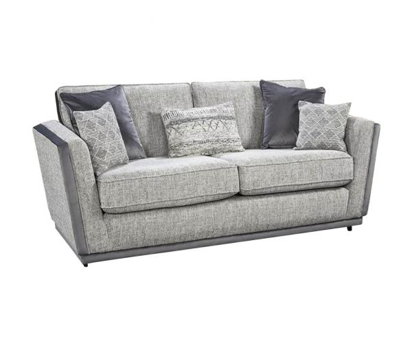 Lebus California High Back Fabric 3 Seater Sofa