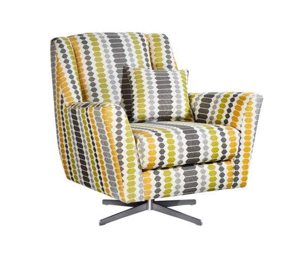 Lebus Candy High Back Fabric Accent Chair