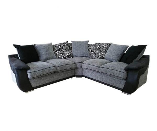 Lebus Carrie Fabric Large Corner Sofa (2-C-2)
