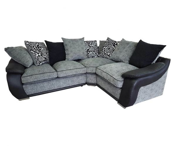 Lebus Carrie Fabric Small Corner Sofa (2-C-1)