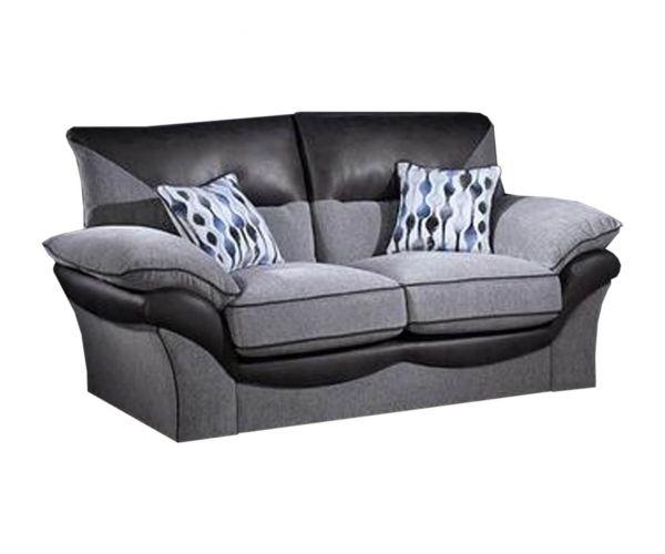 Lebus Chloe High Back Fabric 2 Seater Sofa