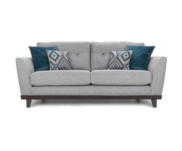 Lebus Dakota High Back Fabric 3 Seater Sofa