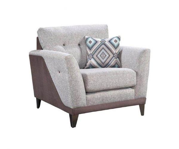 Lebus Dakota High Back Fabric Armchair