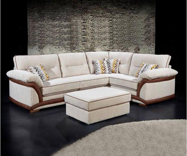 Lebus Erinne Fabric Large Corner Sofa