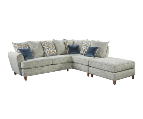 Lebus Lusso Fabric Small Right Hand Facing Corner Sofa
