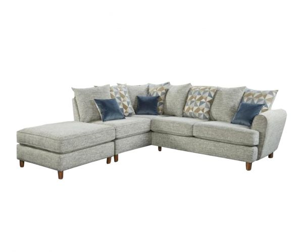 Lebus Lusso Fabric Small Left Hand Facing Corner Sofa