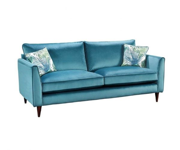 Lebus Pasha High Back Fabric 2 Seater Sofa