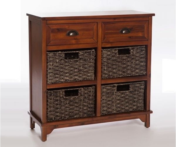 Furniture Link Libra Dark 6 Drawer Chest