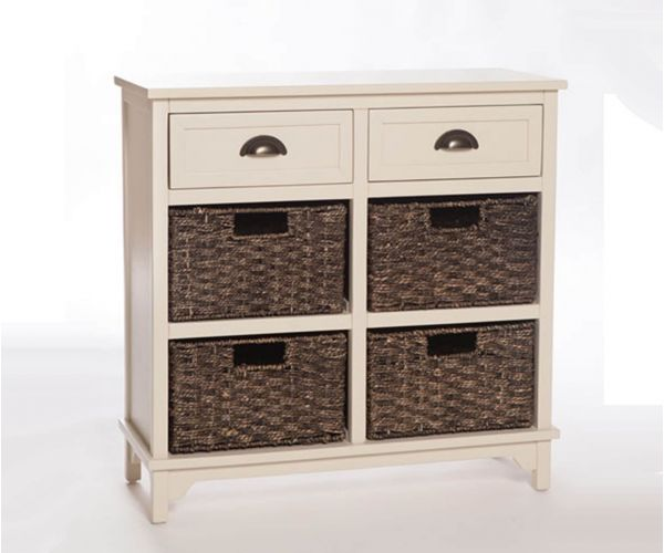 Furniture Link Libra White 6 Drawer Chest