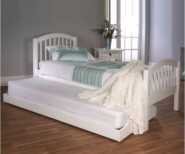 Limelight Despina White Wooden Under Guest Bed Only
