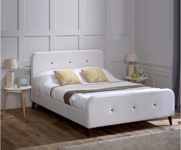 Limelight Tucana Ecru Fabric Bed Frame