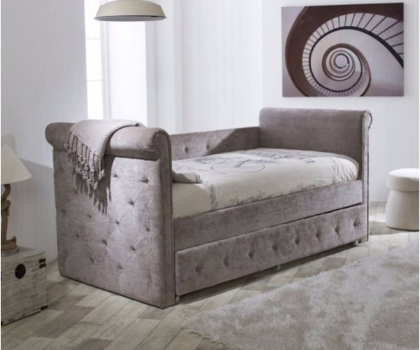 Limelight Zodiac Fabric Day Bed with Trundle Guest Bed