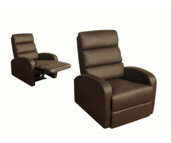 Annaghmore Livorno Brown Leather Reclining Armchair