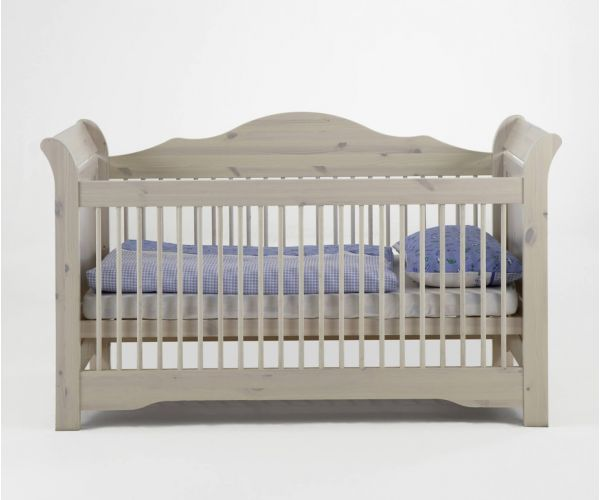 Steens Lotta Whitewash Cot Bed