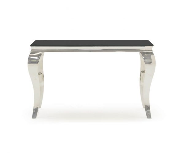Vida Living Louis Black Console Table