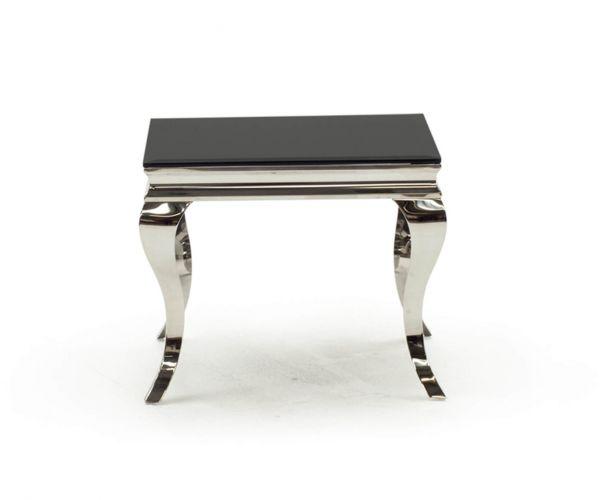 Vida Living Louis End Table - Black
