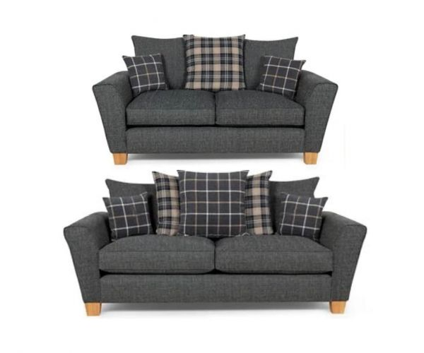 Lebus Lucy Fabric 3+2 Sofa Set