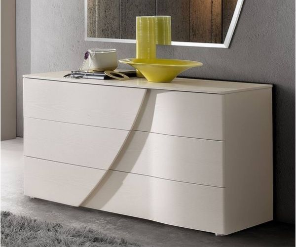 Camel Group Luna White Single Dresser