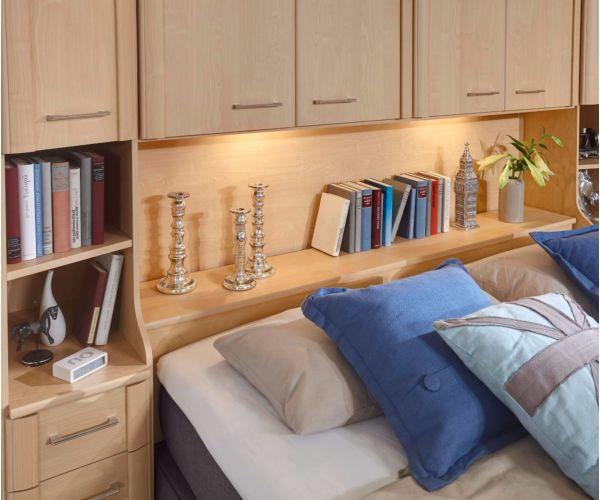 Wiemann Luxor4 Wooden Overbed Unit Suggestion 5&6