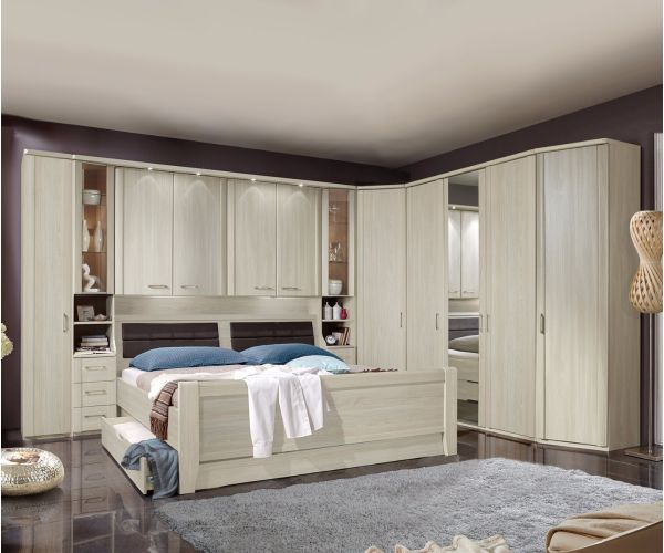 Wiemann Luxor3 Wooden Overbed Unit Suggestion 5&6