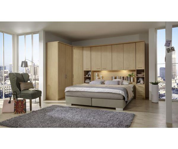 Wiemann Luxor3 Wooden Overbed Unit Suggestion 1&2