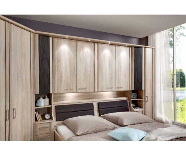 Wiemann Luxor4 Wooden Overbed Unit Suggestion 1&2