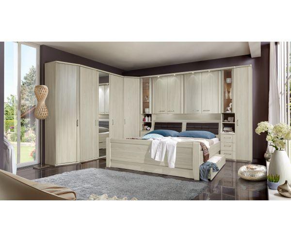 Wiemann Luxor3 Wooden Overbed Unit Suggestion 3&4