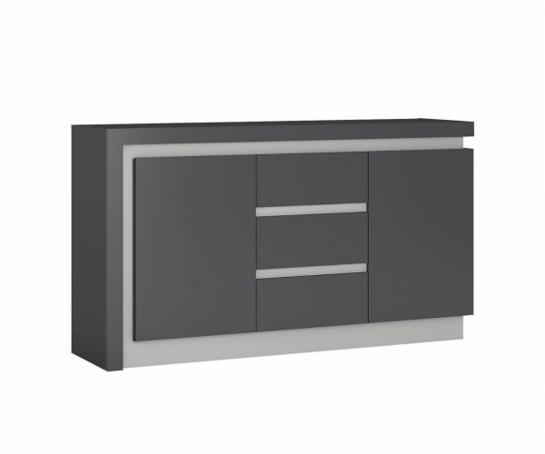 FTG Lyon 2 Door 3 Drawer Sideboard