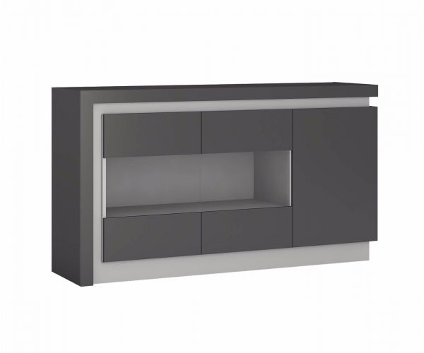 FTG Lyon 3 Door Glazed Sideboard