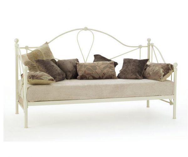 Serene Furnishings Lyon Metal Day Bed Frame