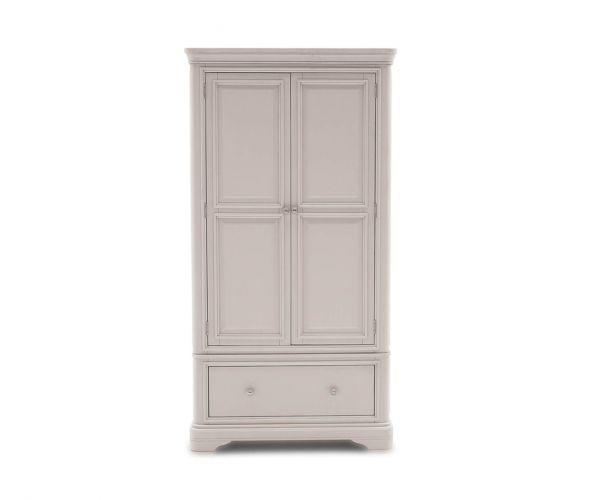 Vida Living Mabel Painted 2 Door 1 Drawer Wardrobe