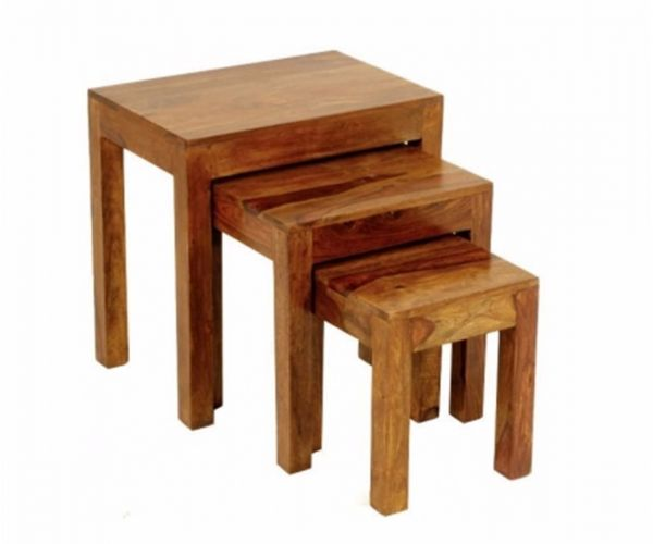 Annaghmore Madras Dark Nest of Table