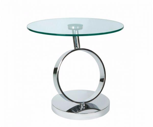 Greenapple Furniture Magic Glass Lamp Table