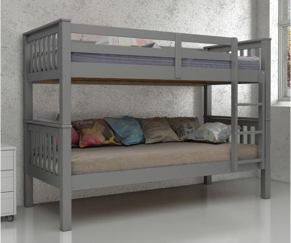 Vida Living Magnus Grey Finish Bunk Bed