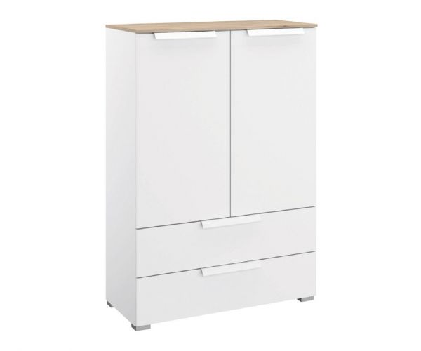 Rauch Marcella Alpine White 2 Door 2 Drawer Chest