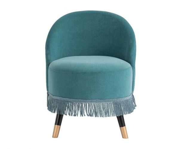Derrys Furniture Margo Teal Cocktail Chair
