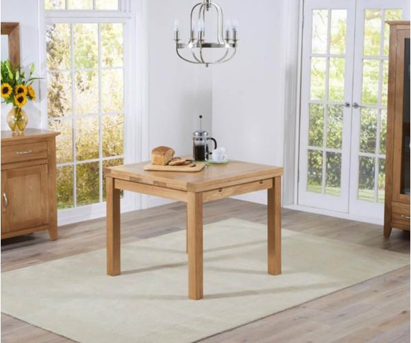 Mark Harris Cambridge Small Oak Extending Dining Table Only