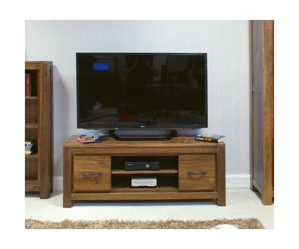 Baumhaus Mayan Walnut Widescreen Television Cabinet