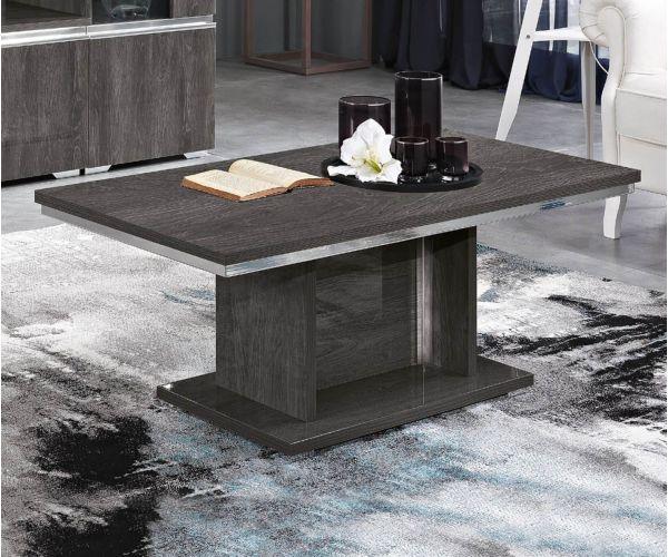 MCS Oxford Grey Finish Rectangular Coffee Table