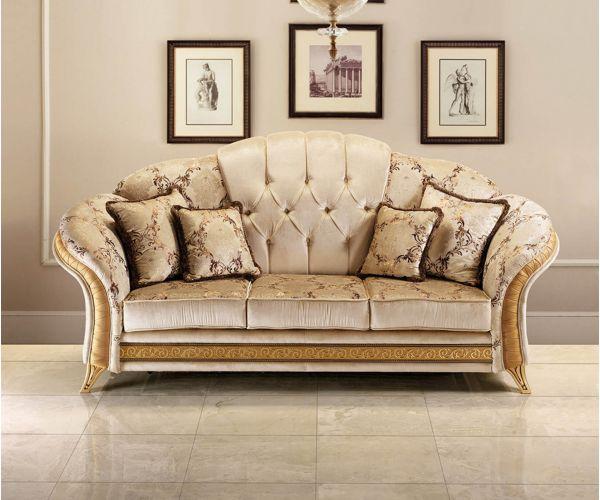 Arredoclassic Melodia Italian 3 Seater Sofa Bed