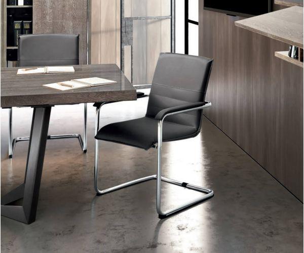 Camel Group Platinum Metrika Grey Office Armchair