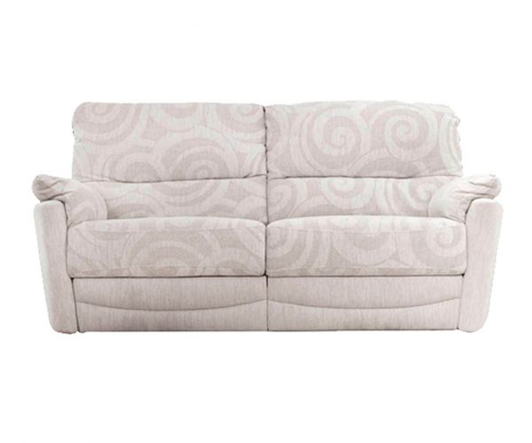 Buoyant Upholstery Metro Fabric Recliner 3 Seater Sofa