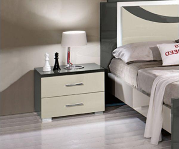 SM Italia Mikole Bedside Table