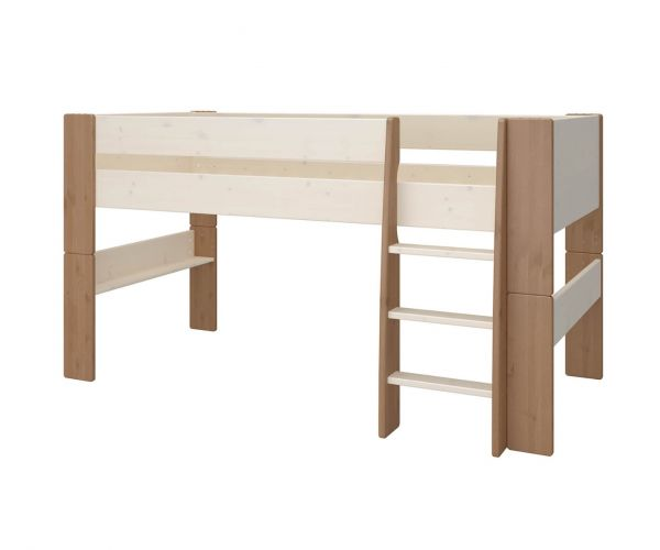 Steens Kids Two Tone Mid Sleeper Bed Frame