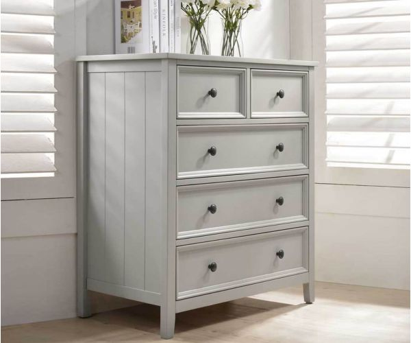 Vida Living Mila Clay Painted 3+2 Drawer Chest