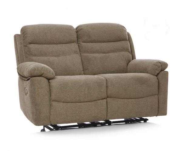 GFA Minnesota Granola Fabric 2 Seater Sofa